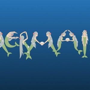 Mermaid title scene