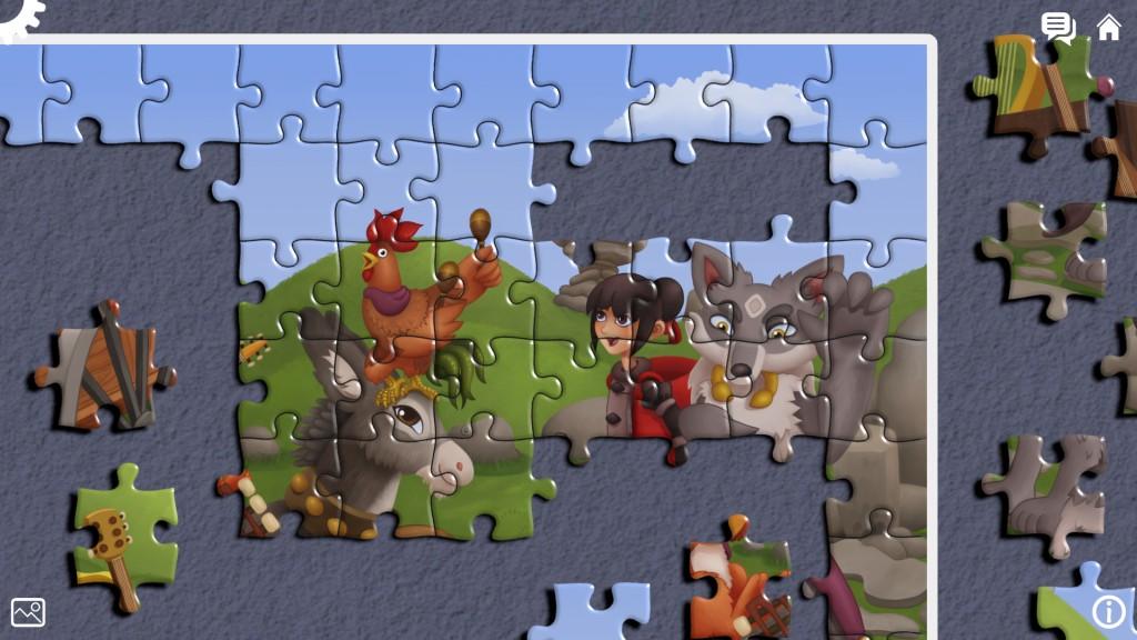 Wolf and Hood - screenshot 4web